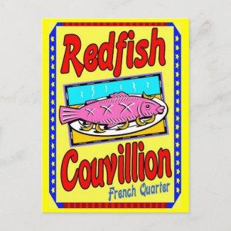 Redfish Couvillion postcard