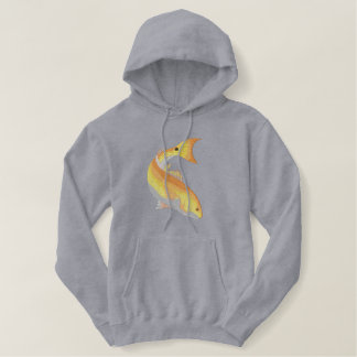Redfish Embroidered Hoodie