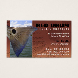 Redfish Fishing Charters Business Card