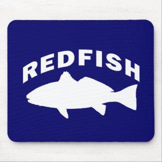 Redfish Fishing Logo Mouse Pad