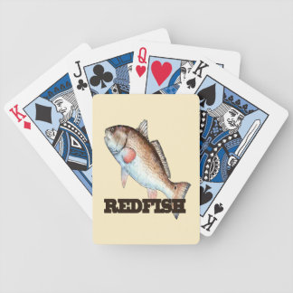 Redfish Playing Cards