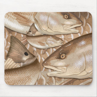 Redfish (Red Drum) Mouse Pad