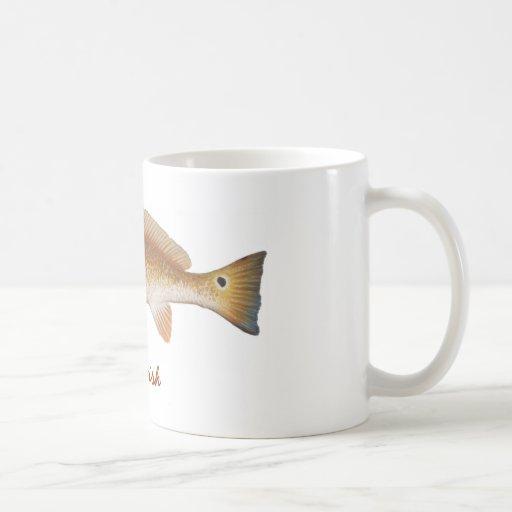 REDFISH, Red Fish Mug