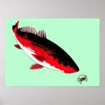 Redfish vs. Crab Print