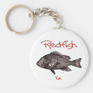 Redfish Yum Keychain