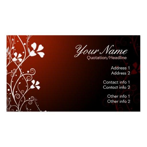 RedFlorali Business Card