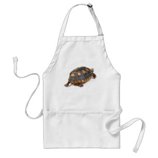Redfoot Tortoise Walking Adult Apron
