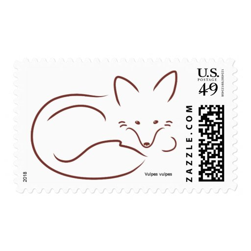 RedFox Postage Stamps