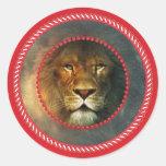 Redframe Lion Sticker