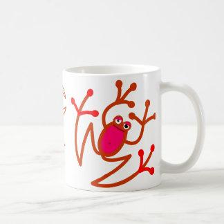 RedFrog° mug poses