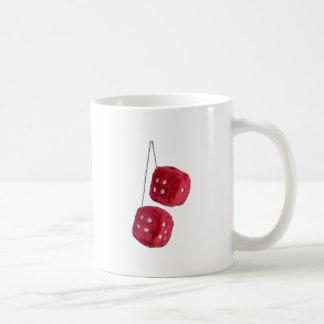RedFuzzyDice073011 Coffee Mug