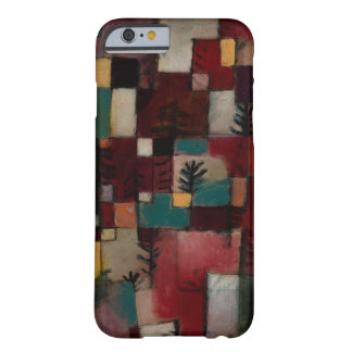 Redgreen and Violet-yellow Rhythms by Paul Klee Barely There iPhone 6 Case