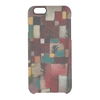 Redgreen and Violet-yellow Rhythms by Paul Klee Clear iPhone 6/6S Case