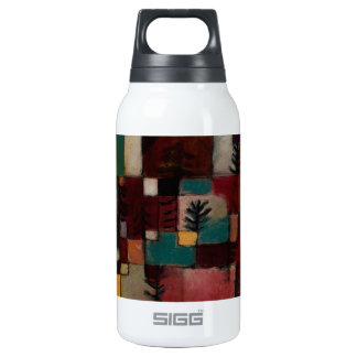 Redgreen and Violet-yellow Rhythms by Paul Klee Insulated Water Bottle