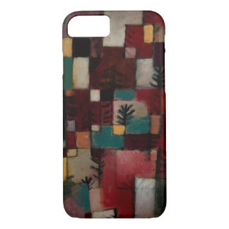 Redgreen and Violet-yellow Rhythms by Paul Klee iPhone 7 Case