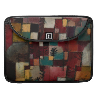 Redgreen and Violet-yellow Rhythms by Paul Klee Sleeve For MacBook Pro