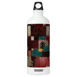 Redgreen and Violet-yellow Rhythms by Paul Klee Water Bottle