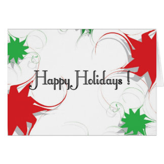 RedGreen Happy Holidays Card