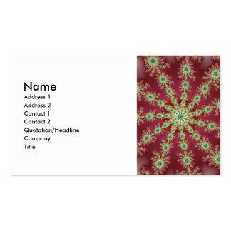 Redgreen Star Business Card