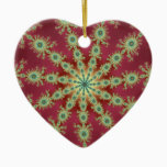 Redgreen Star Ceramic Ornament
