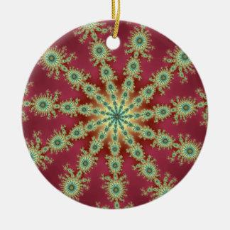 Redgreen Star Ceramic Ornament