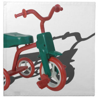 RedGreenTricycle012915.png Cloth Napkin
