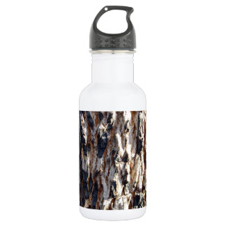 Redgum tree bark water bottle