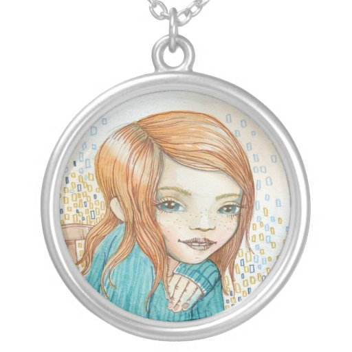 redhair girl custom jewelry