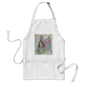 Redhaired Elf Adult Apron