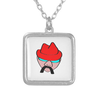 Redhat Silver Plated Necklace