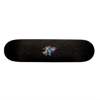 Redhead 3D Pixie - Purple & Blue Skateboard