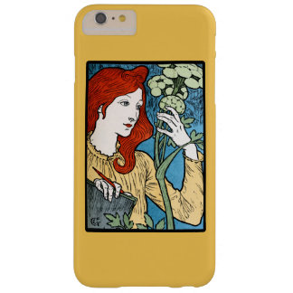 Redhead artist barely there iPhone 6 plus case