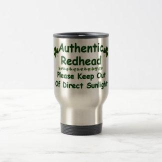Redhead auténtico taza de café