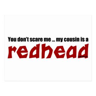 Redhead Cousin Postcard