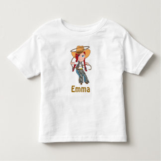 Redhead Cowgirl Shirt with Name