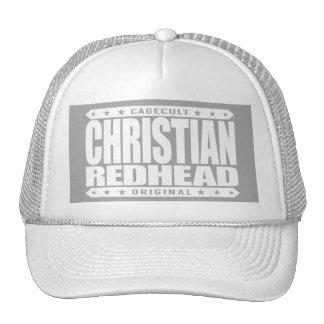 REDHEAD CRISTIANO - soy levantamiento ardiente de Gorros Bordados