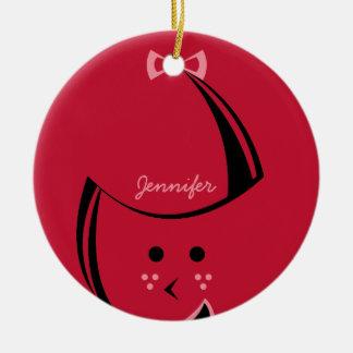 Redhead Customizable Ornament