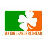 Redhead de la primera división postales