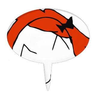 Redhead Derpina Cake Topper