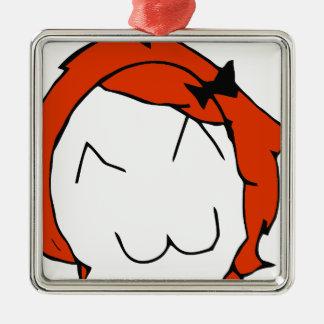 Redhead Derpina Metal Ornament