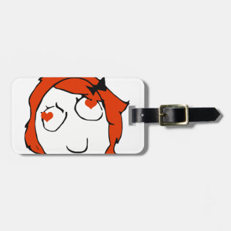Redhead Derpina Valentine - In Love Tags For Luggage