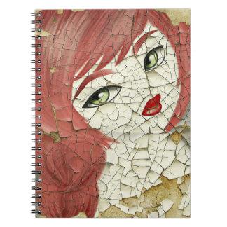 Redhead Doll Notebook