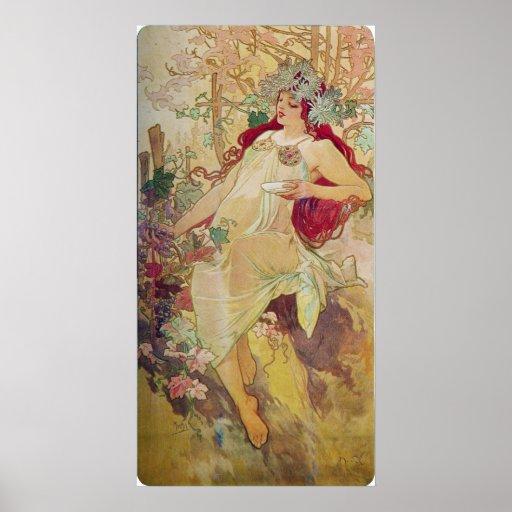 Redhead Goddess Poster