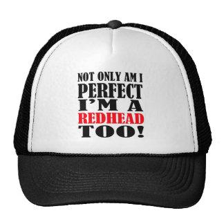 redhead gorras