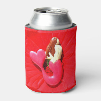 redhead heart-tail  mermaids can cooler