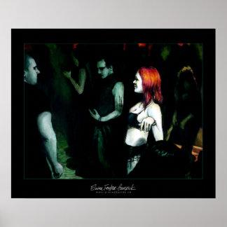 Redhead - impresión póster
