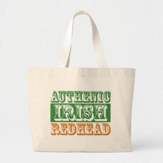 Redhead irlandés auténtico bolsas de mano