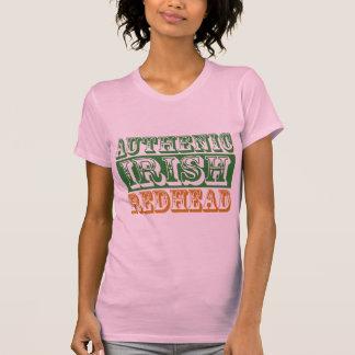 Redhead irlandés auténtico camiseta
