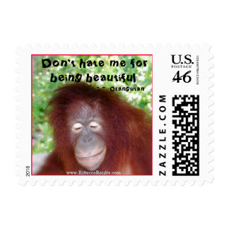 Redhead Jealousy Don t Hate Me for Being Beautful Postage