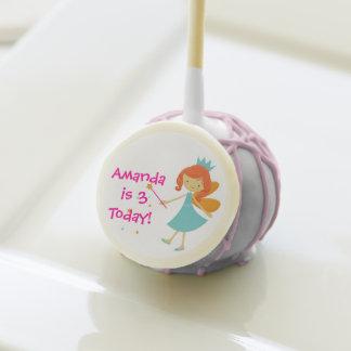 Redhead Little Fairy Birthday Custom Cake Pops Cake Pops